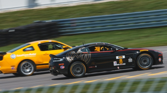Canadian content, local rivals/friends Multimatic Motorsports in the Boss 302R