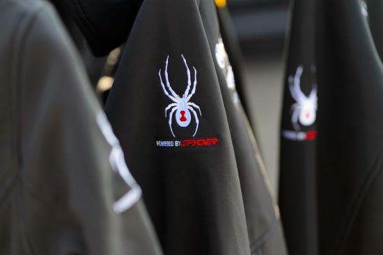 Spyder apparel in high demand.