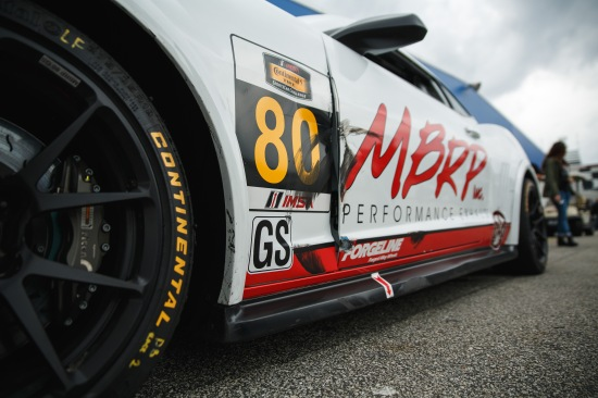 Rubbing is often racing in the CTSCC, the fans got a great show and the cars will be back to pristine for Sebring.