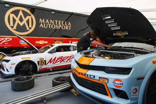 The Mantella Autosport paddock is the perfect place to stop by and get an up close look at what a CTSCC GS car is made of.